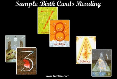 birth cards tarot reading