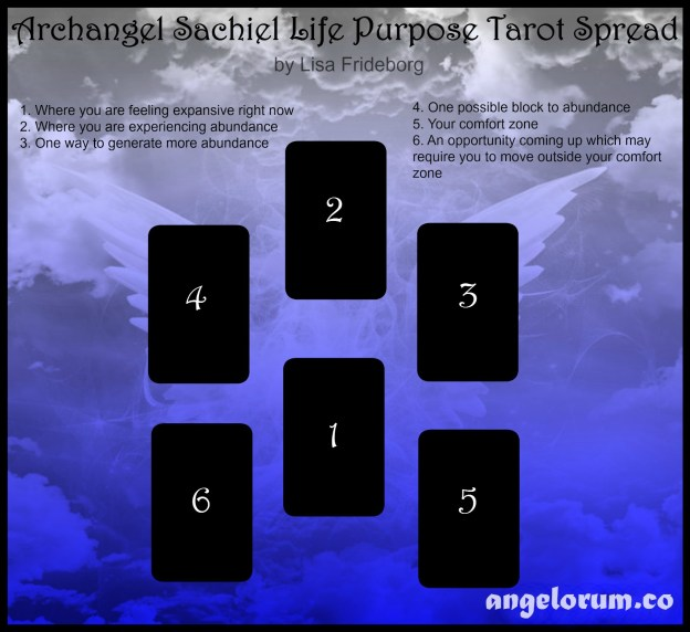 Archangel Sachiel Life Purpose Tarot Spread