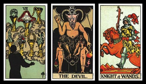 excuses for cheating tarot card combinations 1