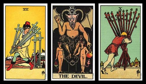 excuses for cheating tarot card combinations 5