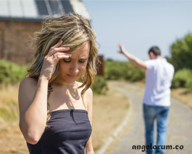 couple in toxic relationship