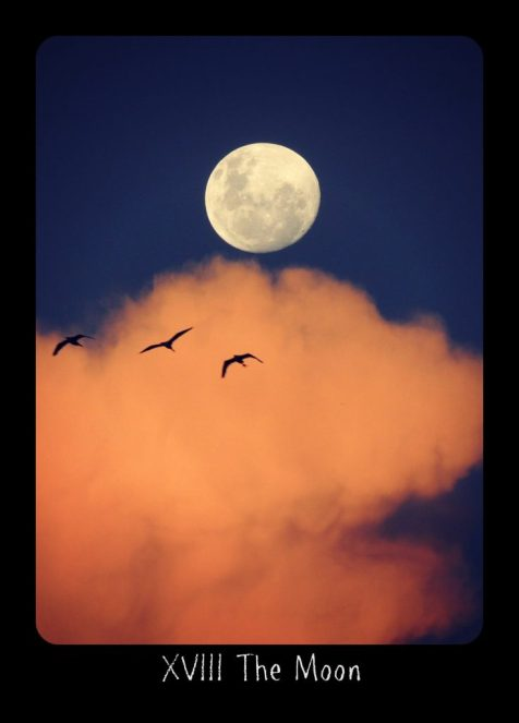 Holistic Tarot card meanings and correspondences for The Moon