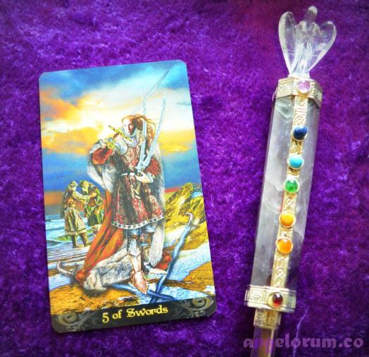 5 of Swords Tarot Illuminati