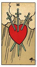 3 of Swords RWS