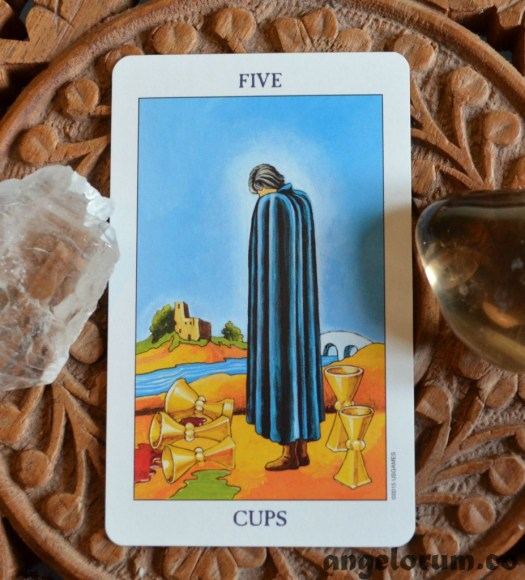 5 of Cups Radiant Rider Waite Tarot