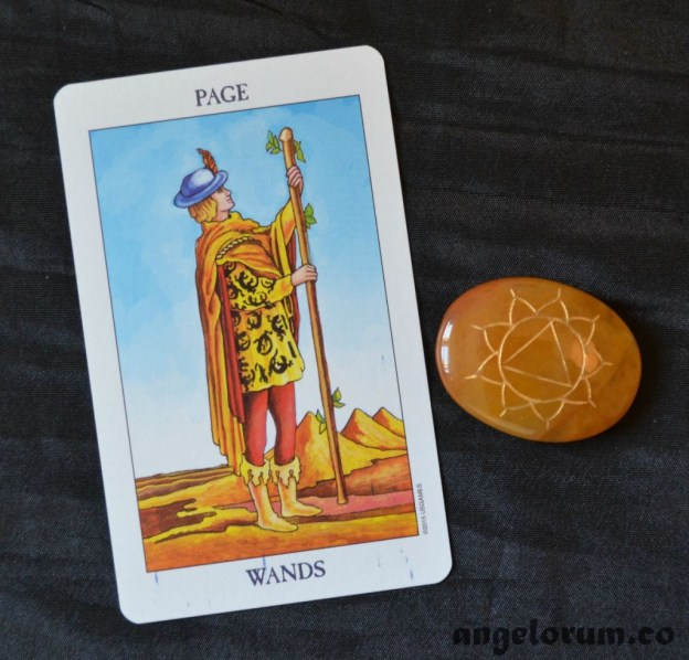 Page of Wands Radiant Rider Waite Tarot