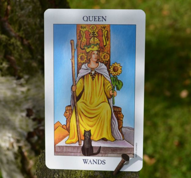 Queen of Wands Radiant Rider Waite Tarot
