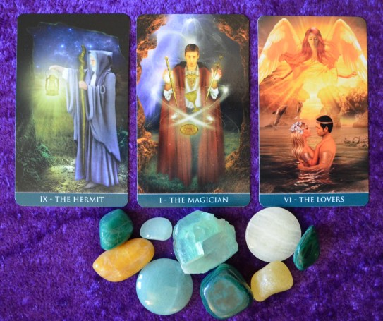 The Major Arcana Tarot cards associated with Archangel Raphael