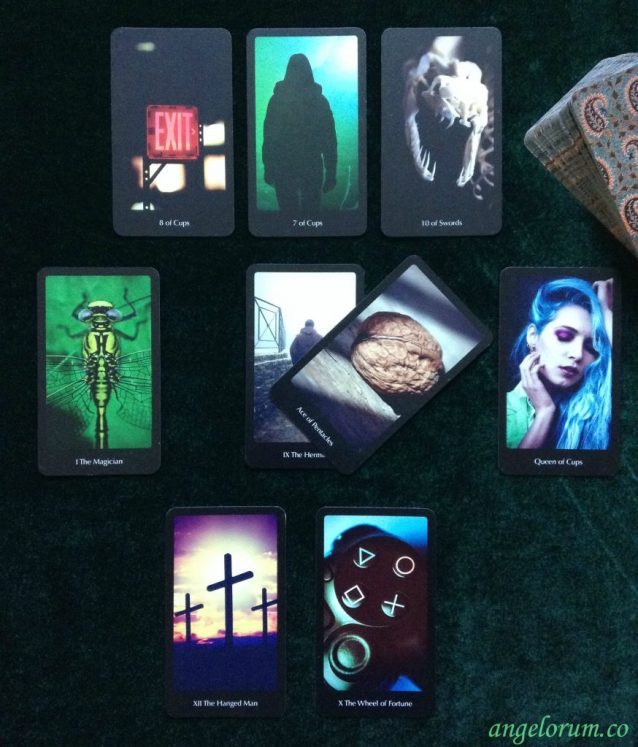 The Forever Friendship Spread Sample Reading with the Frideborg Tarot