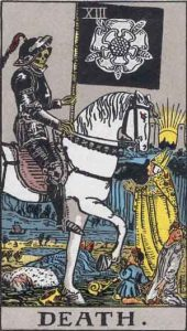 XIII Death Waite Smith Tarot