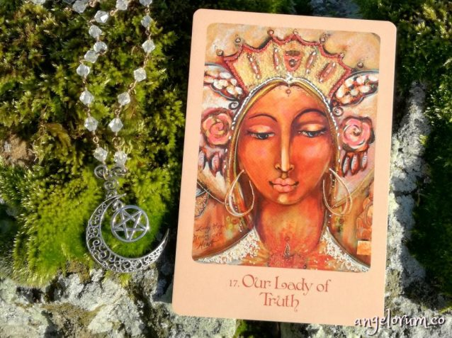 Our Lady of Truth from the Mother Mary Oracle