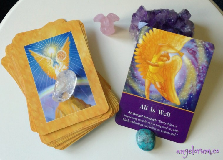 archangel oracle cards by doreen virtue how to do psychic angel card readings