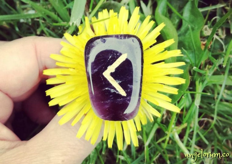 holistic rune meanings and correspondences for the kenaz rune