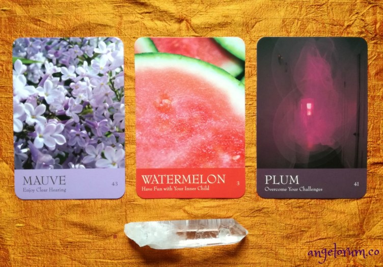pick a card for the week ahead free angelic guidance reveal secret language of color cards