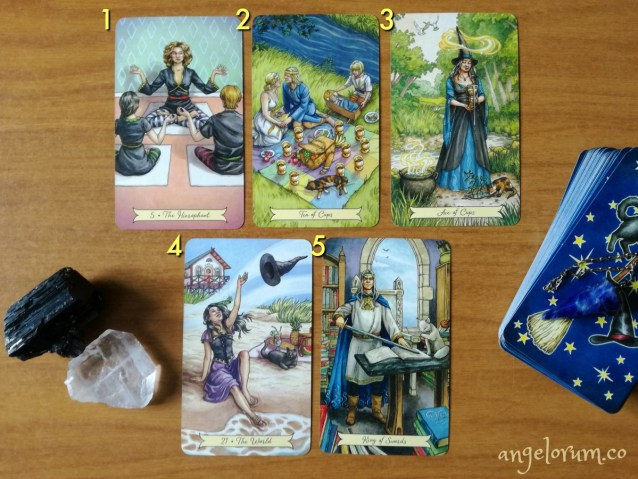 deck interview with the everday witch tarot