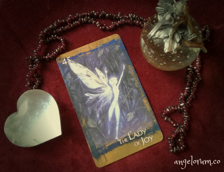 the lady of joy brian froud heart of the faerie oracle