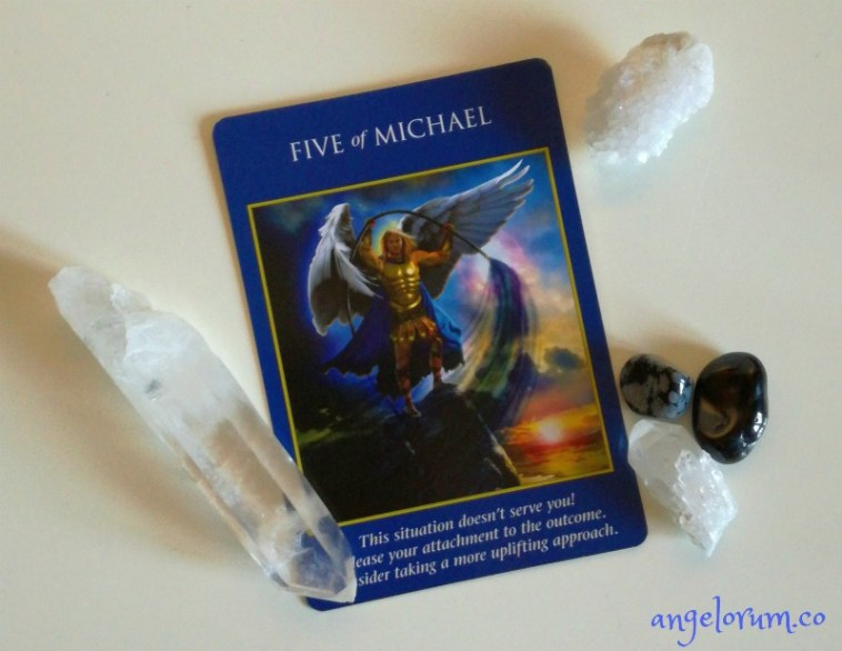 five of michael archangel power tarot