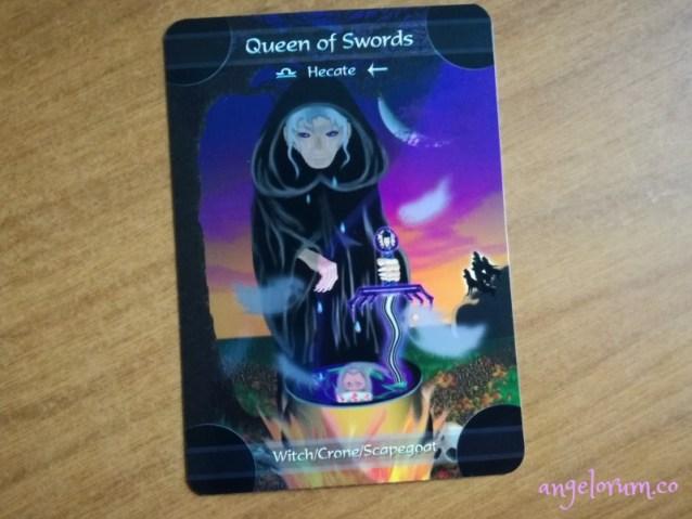 Queen of Swords Kingdom Within Tarot