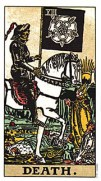 the tarot death card