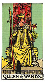 Queen of Wands Thanksgiving Tarotscopes