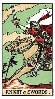 Knight of Swords Thanksgiving Tarotscopes