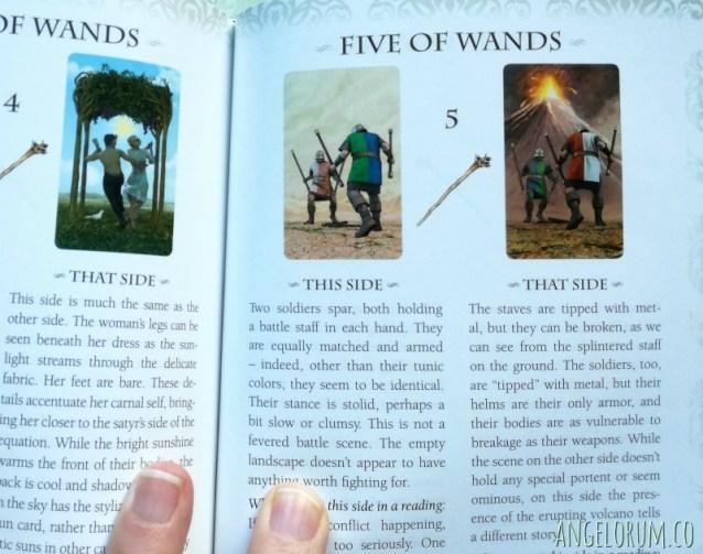 The Vice Versa Tarot Companion Book Court Cards