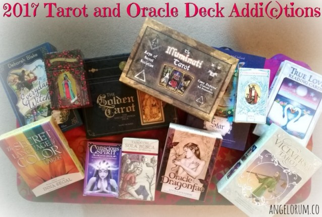 2017 Tarot and Oracle Decks