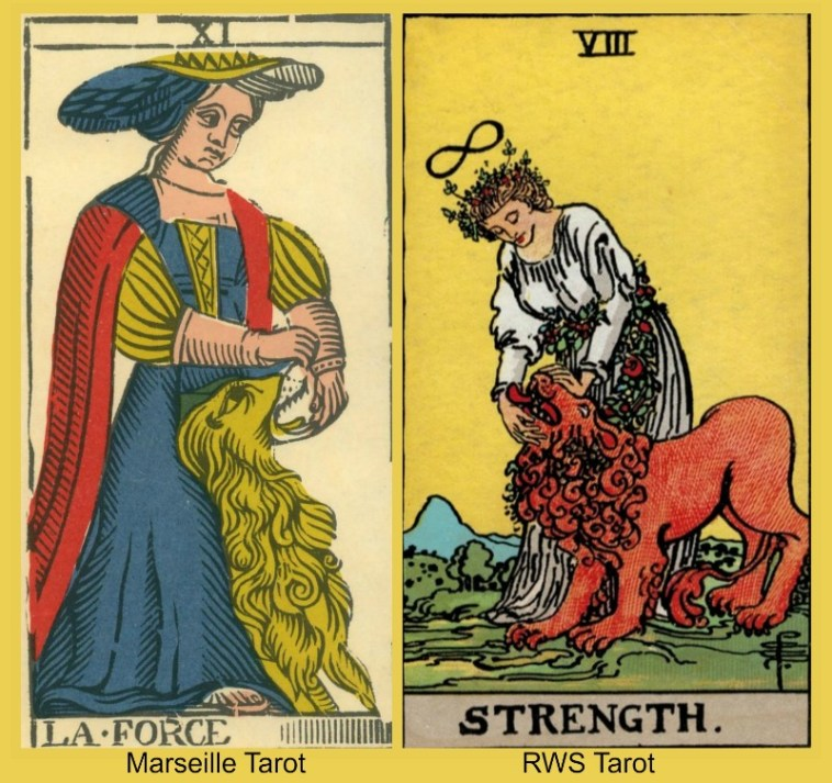 7 Facets of the Tarot Strength Card