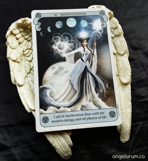 Moon Goddess from the Conscious Spirit Oracle