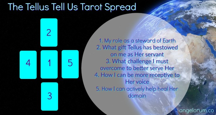 Tellus Tell Us Tarot Spread