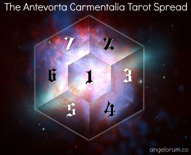 The Antevorta Carmentalia Tarot Spread