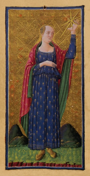 Return of the Divine Feminine Star Tarot Card Visconti Sforza