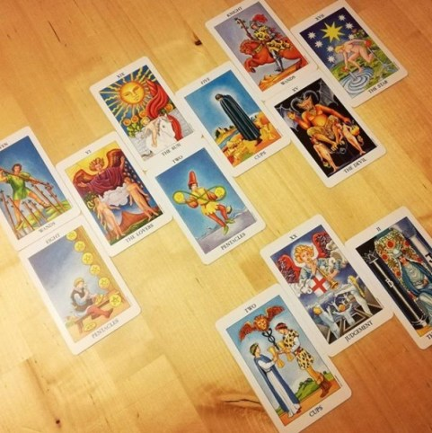 whole self tarot radiant rider waite tarot