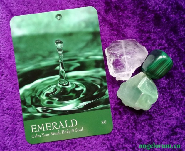 Emerald from the Secret Language of Color Cards