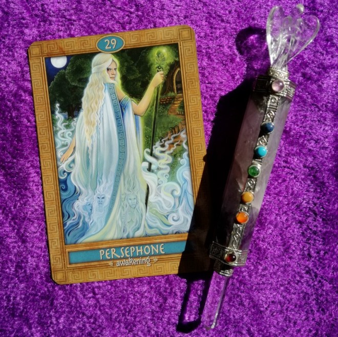 Persephone Mythic Oracle Week Ahead Messages