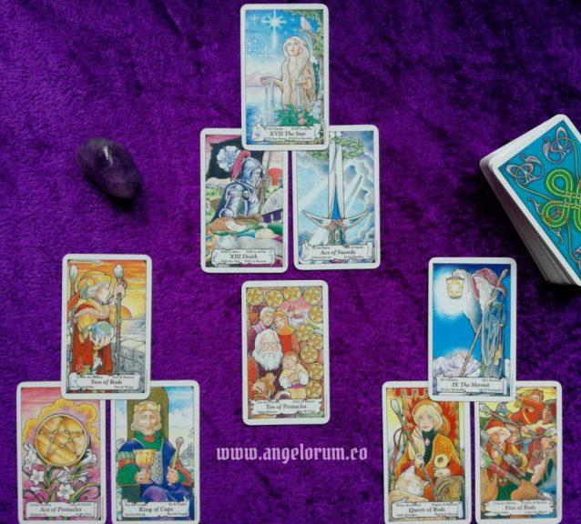 Archangel Raphael Mental Focus Tarot Spread Sample Reading