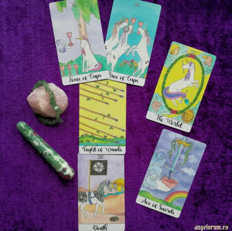 Crystal Unicorn Tarot Deck Interview