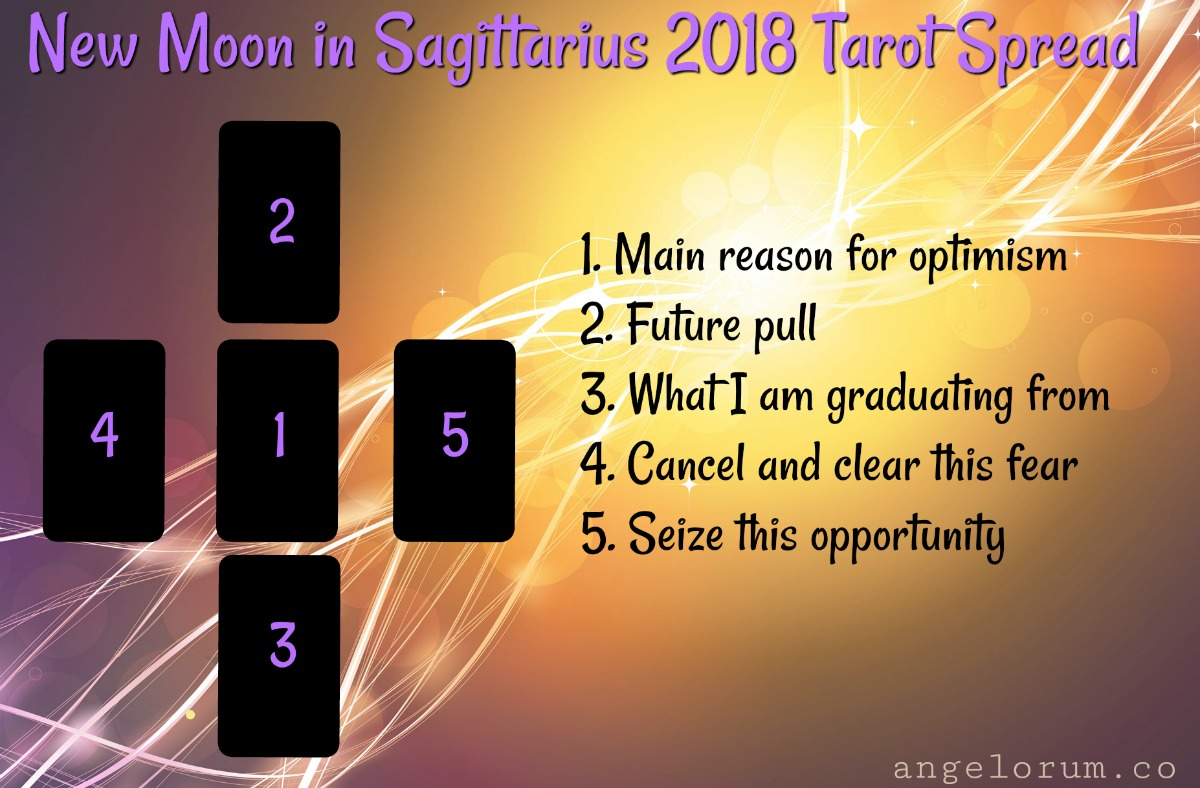 New Moon in Sagittarius 2018 ⋆ Angelorum - Tarot and Healing