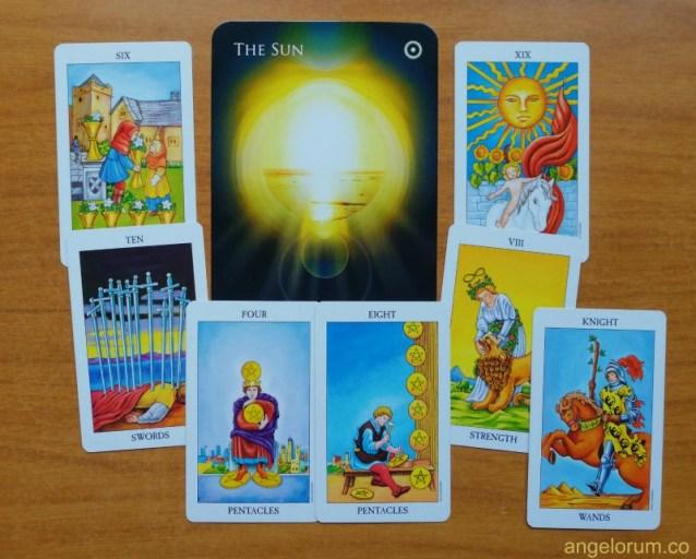 Sun Planetary Tarot Correspondences