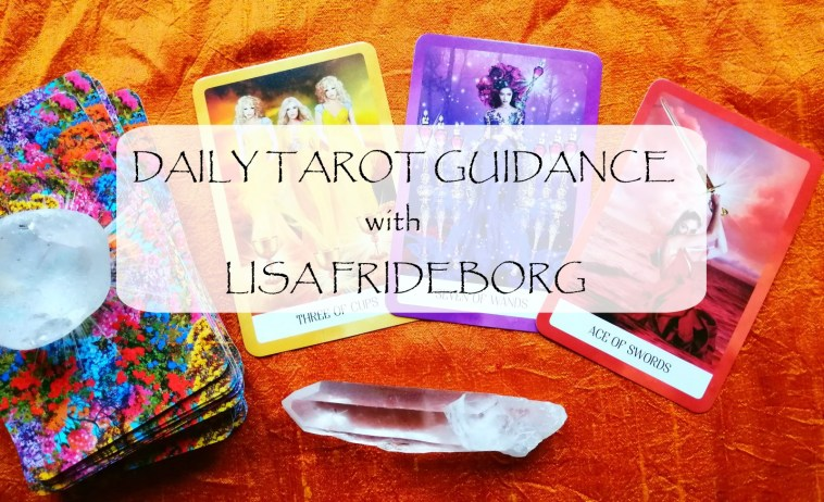 Daily Tarot Guidance with Lisa Frideborg on YouTube