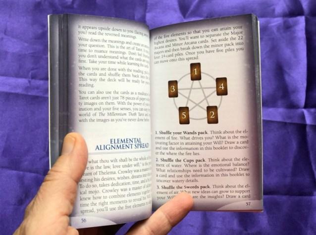 Millennium Thoth Tarot Little White Book