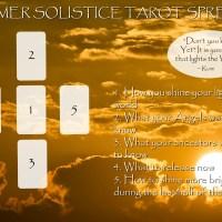 Summer Solstice Message + Tarot Spread