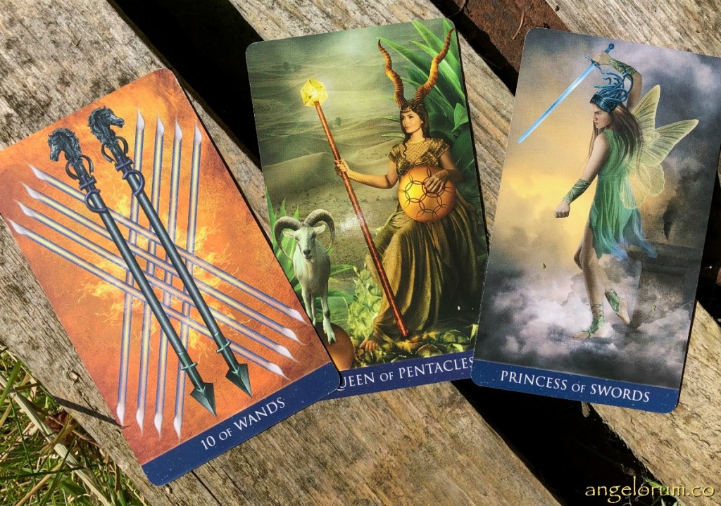 Capricorn Full Moon Lunar Eclipse Tarot Reading with the Millennium Thoth Tarot