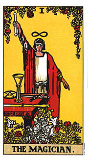 22 Daily Intentions Tarot The Magician