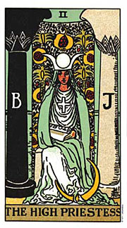 22 Daily Intentions Tarot The High Priestess