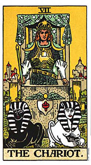 22 Daily Intentions Tarot The Chariot