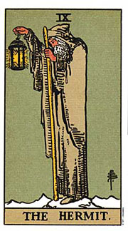 22 Daily Intentions Tarot The Hermit