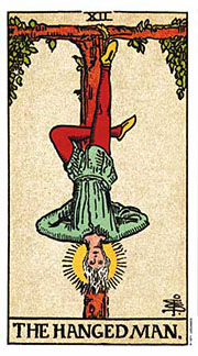 22 Daily Intentions Tarot The Hanged Man
