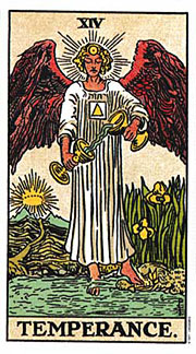22 Daily Intentions Tarot Temperance