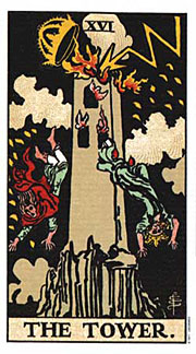 22 Daily Intentions Tarot The Tower